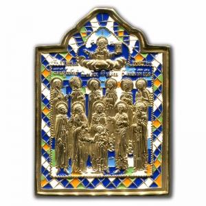 3.80 Медная икона Избранные святые