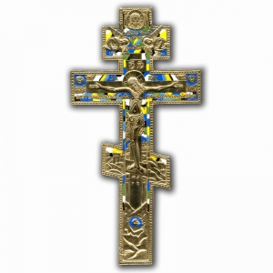 4.2.5 Медный киотный крест с эмалью