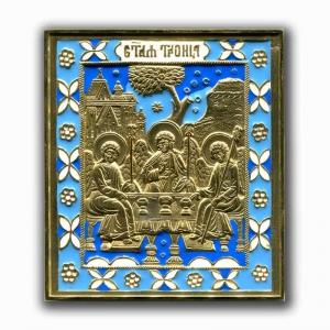 6.17 Икона медная Святая Троица