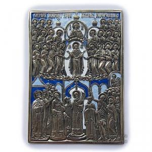 6.5 Медная икона Покрова Пресвятой Богородицы
