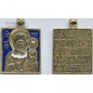 7.2 Богоматерь Одигитрия 3,9х2,8