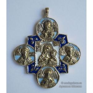 7.3 Медная икона Богоматерь Смоленская