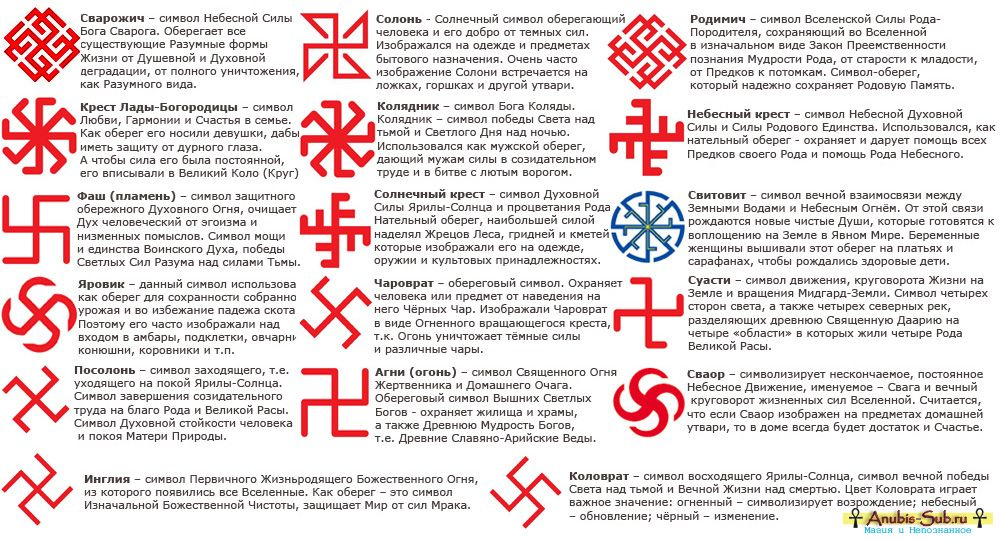 Славянские обереги своими руками